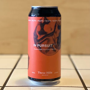 Three Hills, In Pursuit No. 7, IPA, 6%