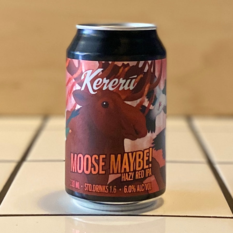Kereru, Moose Maybe!, Red IPA, 6%