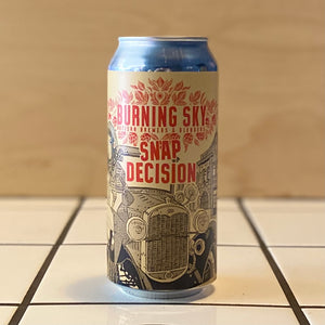 Burning Sky, Snap Decision, American Brown Ale, 6%