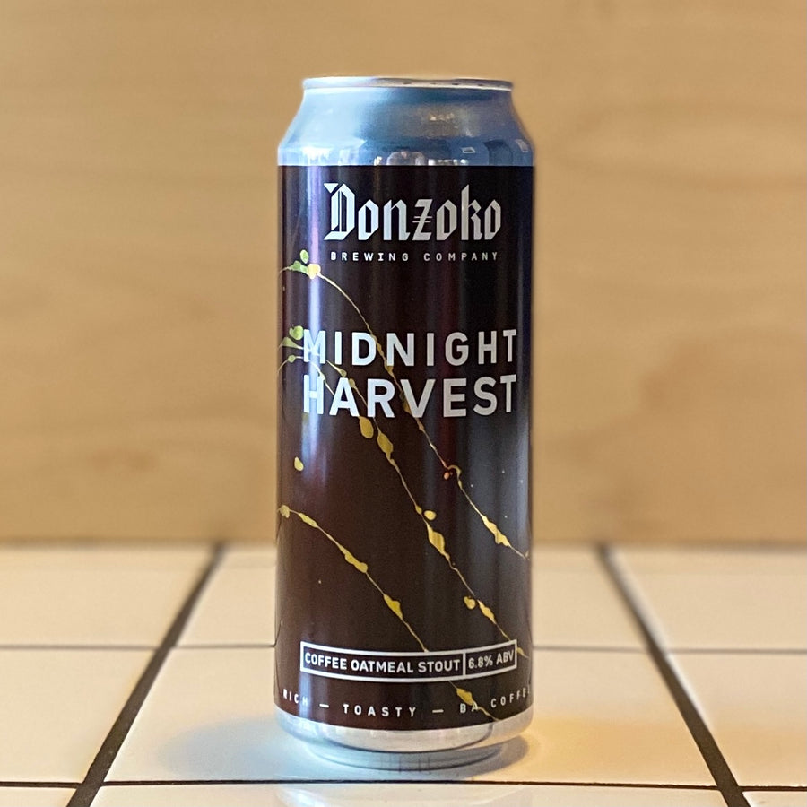 Donzoko, Midnight Harvest, Oatmeal Stout, 6.8%