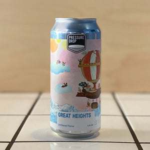 Pressure Drop, Great Heights, Unfiltered Pilsner, 4.8%