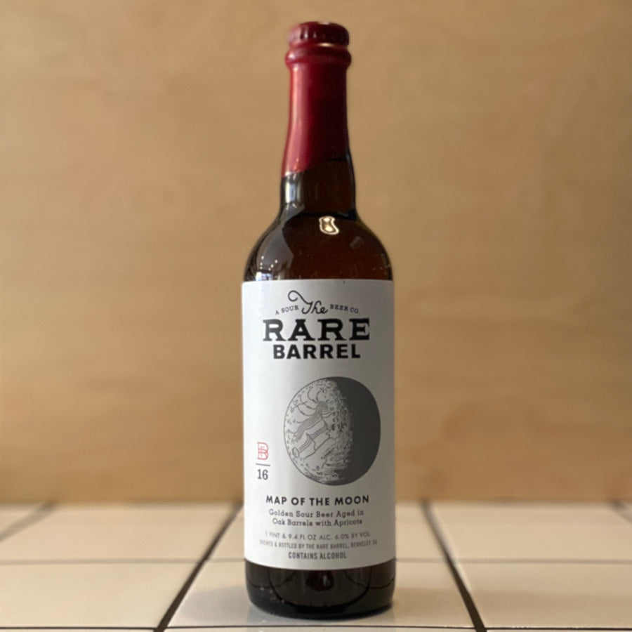 The Rare Barrel, Map of the Moon (2019), Sour Golden Ale, 9%