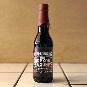 NERD Brewing, Indexoutofbounds Oak Aged Edition Vanilla Mole Edition, R.I.S, 11.5%
