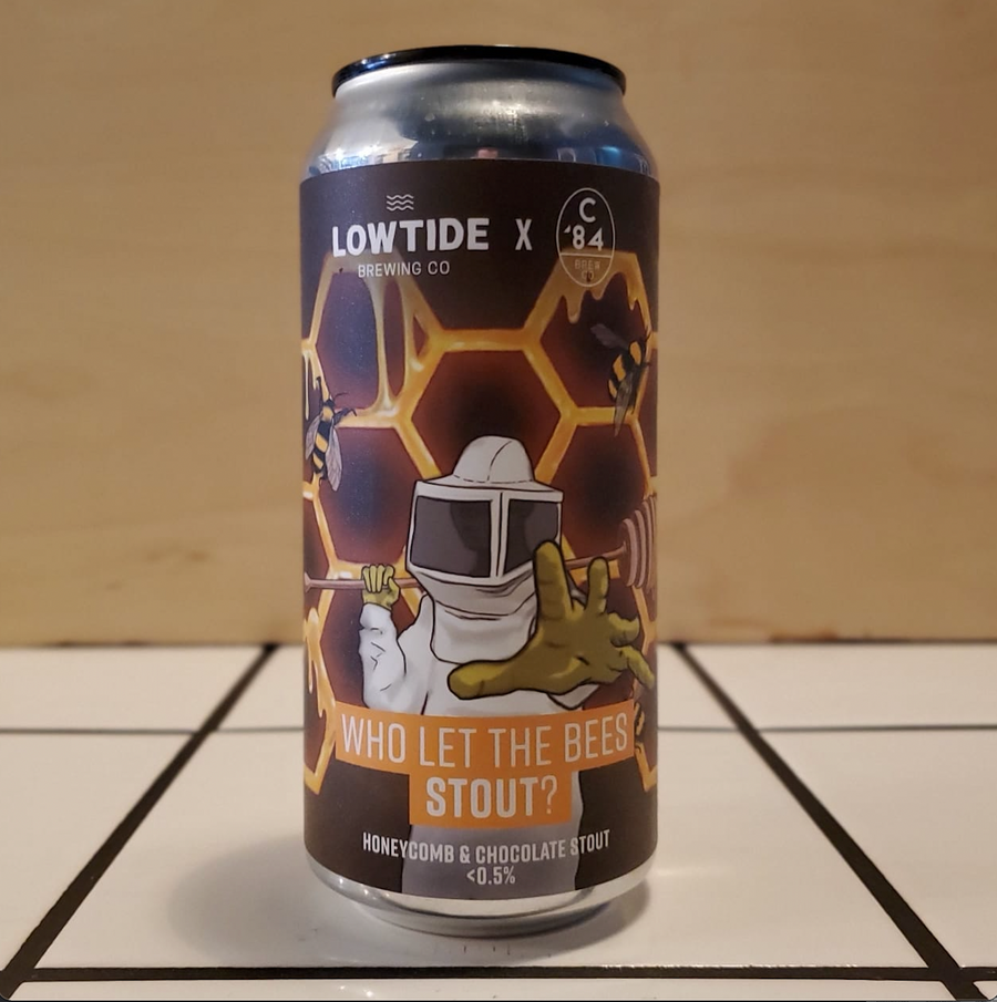 Lowtide Brewing x C84 Brew Co., Who Let The Bees Stout, 0.5%