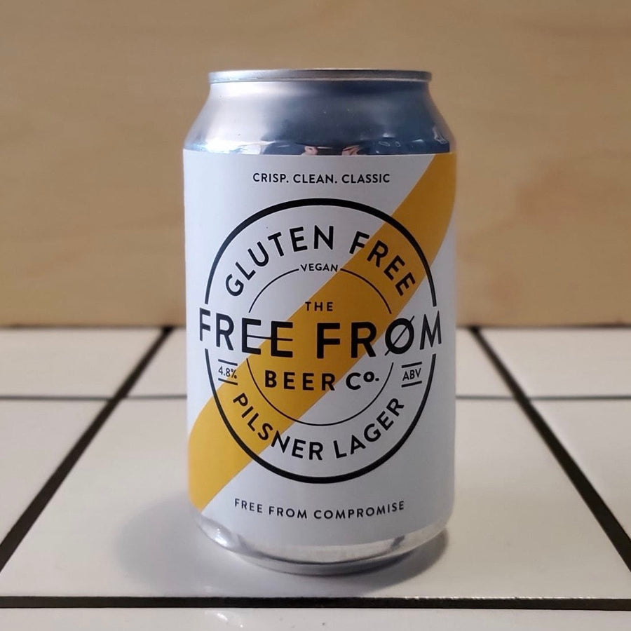 The Free From Brewing Co., Pilsner, 4.8%