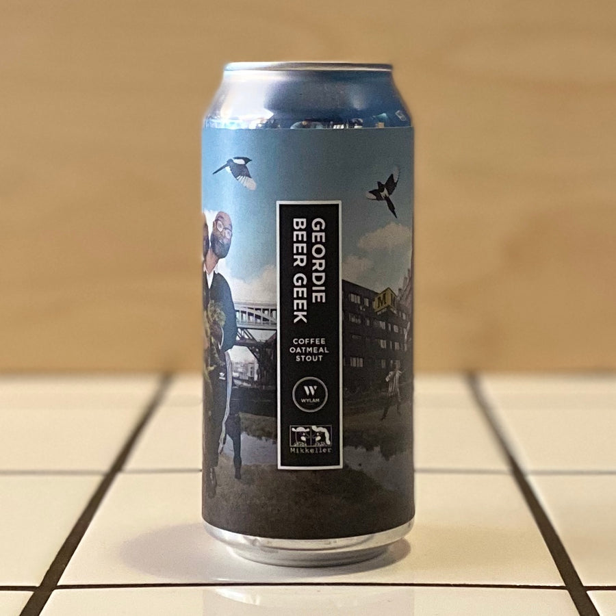 Wylam x Mikkeller, Geordie Beer Geek, Coffee Oatmeal Stout, 7.5%