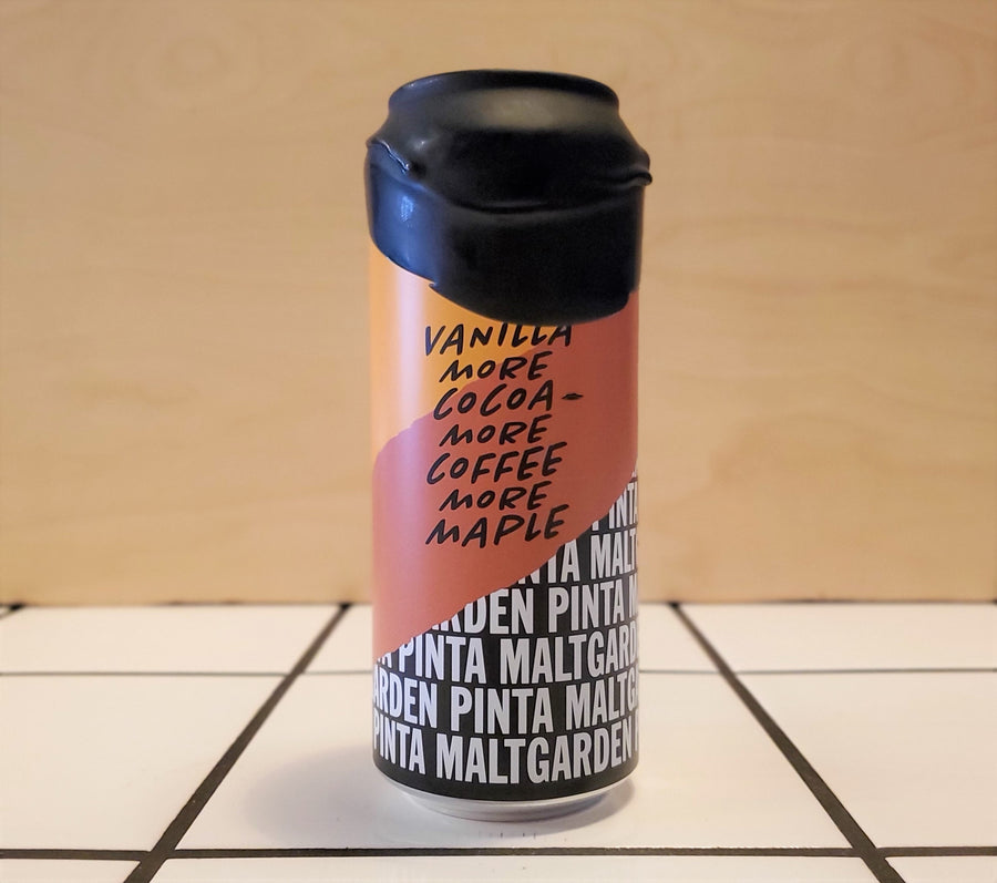 Pinta x Maltgarden, Vanilla More Cocoa More Coffee More Maple, Imperial Pastry Stout, 9.6%