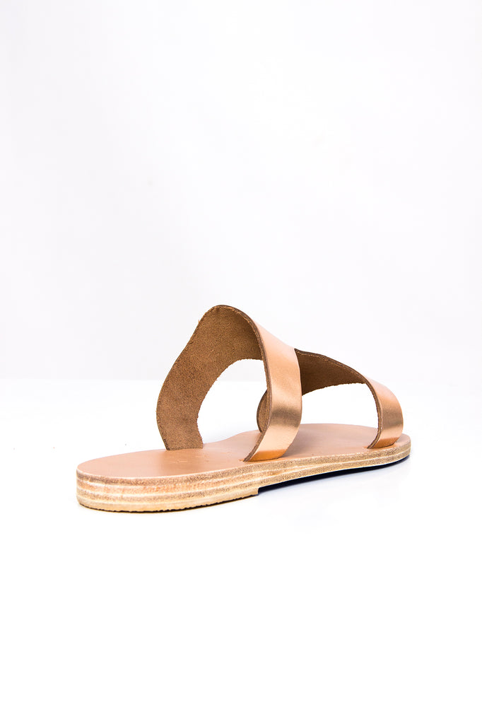 KYMA Santorini Sandal in Bronze/Bronze available at Personnel of New York