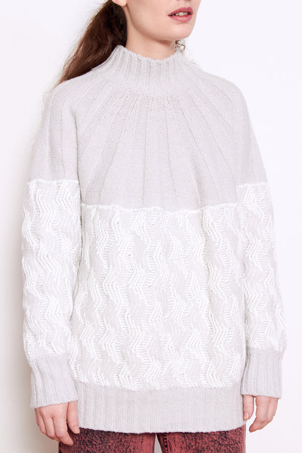 Rachel Comey Bowen Sweater in Grey