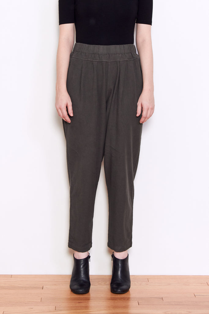 Black Crane Carpenter Pant in Dark Grey available at Personnel of New York