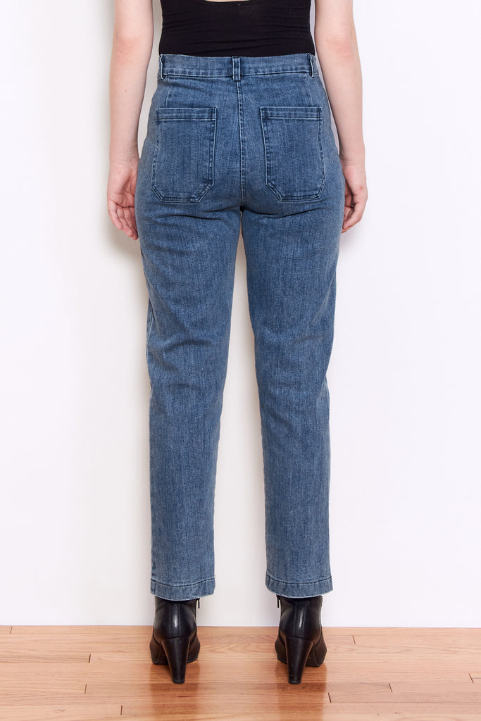 Loup Anna Jeans in Light Indigo available at Personnel of New York
