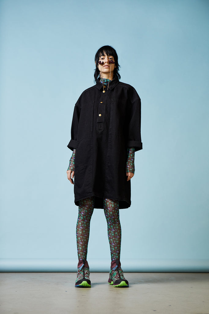 Henrik Vibskov Crop Dress in Black available at Personnel of New York