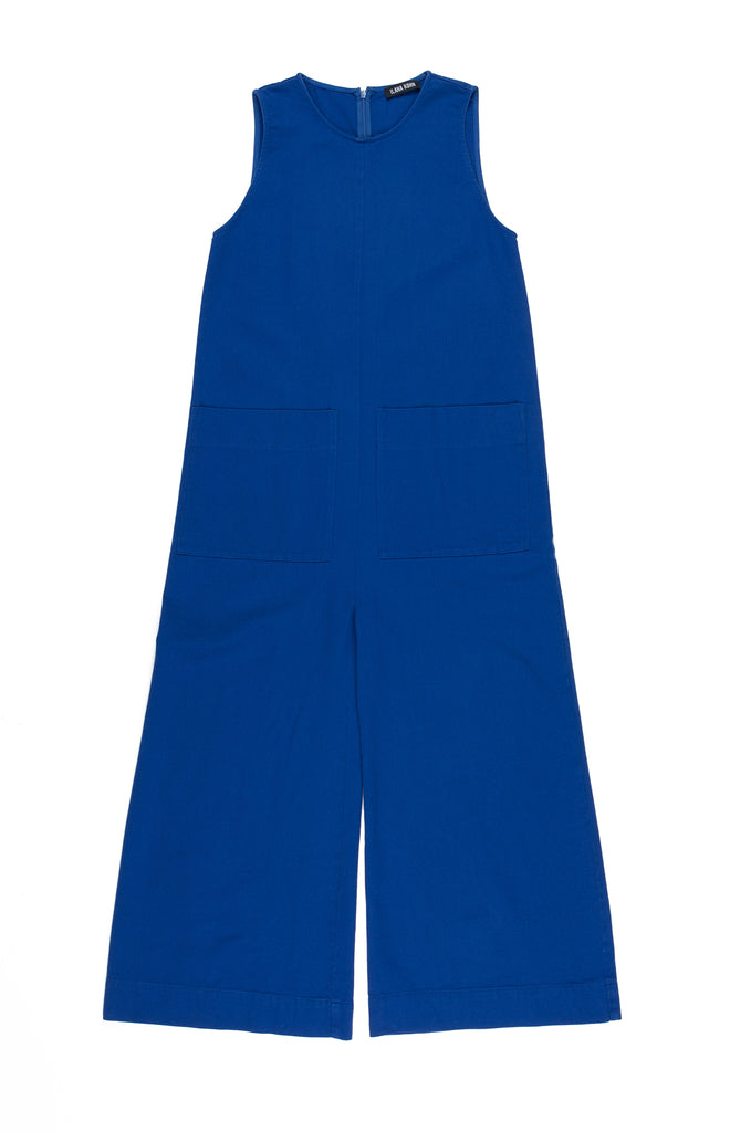 Ilana Kohn Harry Jumpsuit in Mazarine available at Personnel of New York