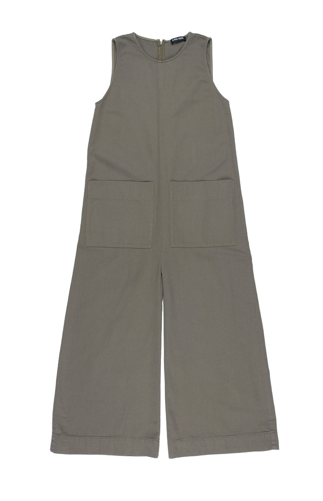 Ilana Kohn Harry Jumpsuit in Peat available at Personnel of New York