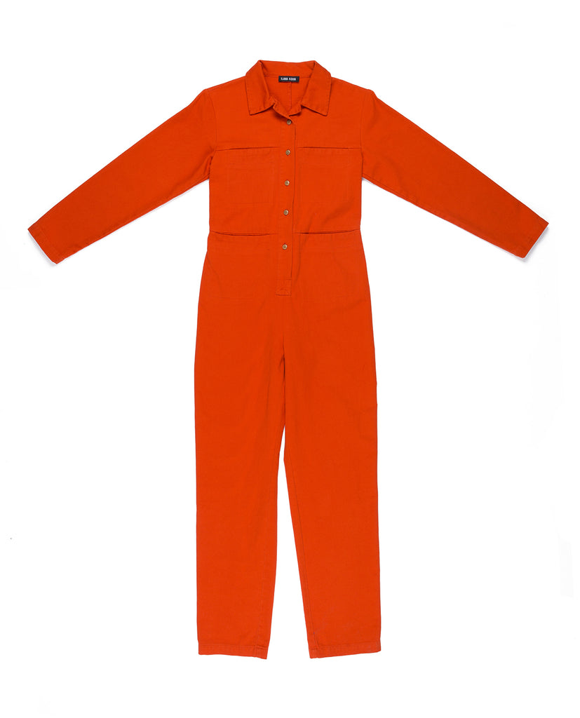 Ilana Kohn Tia Coverall in Pepper available at Personnel of New York