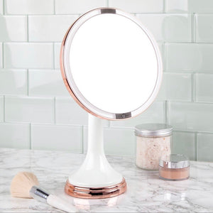Sensor Led Lighted Makeup Vanity Mirror 8""