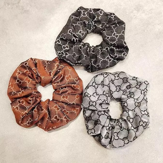 High-End Hair Scrunchies