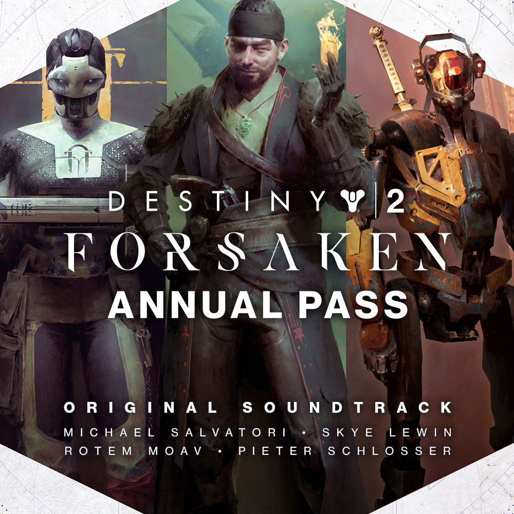 Bungie Rewards - Destiny 2: Forsaken Annual Pass Original Soundtrack