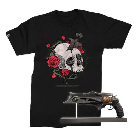 PREORDER BUNDLE: Bungie Rewards Thorn Miniature Collectible Replica and T-shirt Bundle (Ship Date TBD)