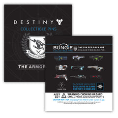 The Armory Series 2 Collectible Pin with Emblem