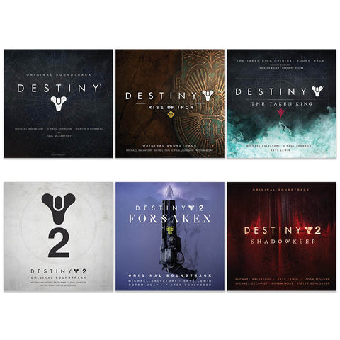Destiny Soundtrack Bundle
