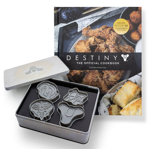 Destiny: The Official Cookbook & Cookie Cutter Bundle