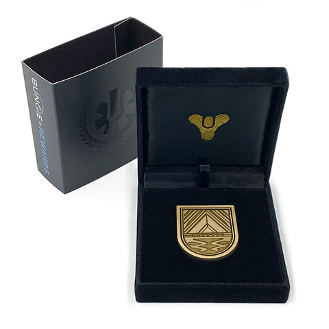 PREORDER: BUNGIE REWARDS - FATEBREAKER SEAL COLLECTIBLE MEDALLION PIN