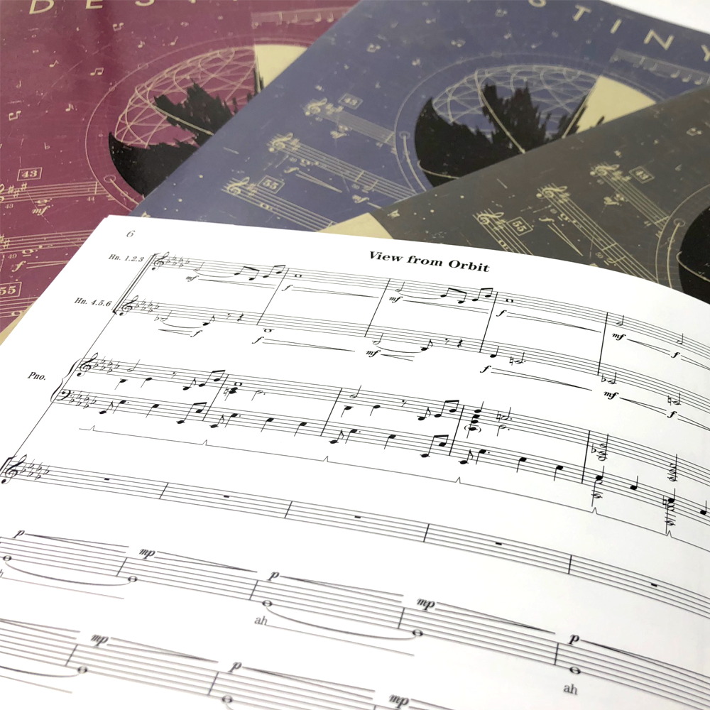 Destiny 2 Sheet Music – Bungie Store