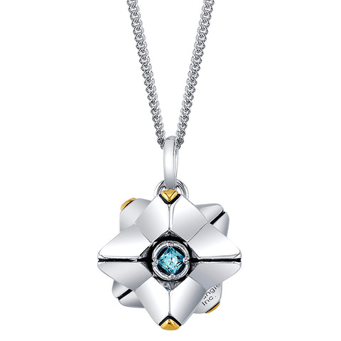 Rotating Ghost Necklace by Rocklove
