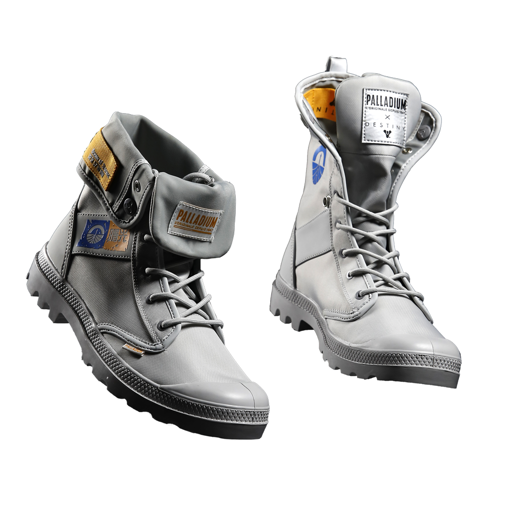 PREORDER:  Destiny x Palladium Pampa Baggy Moon Boots