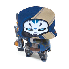 Bungie Rewards The Stranger Papercraft Figure