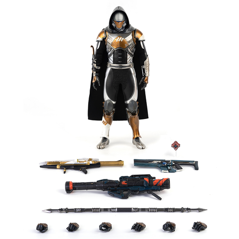 PREORDER: THREEZERO DESTINY 2 - HUNTER MERCURY VEX CHROME SHADER 1/6 SCALE COLLECTIBLE FIGURE