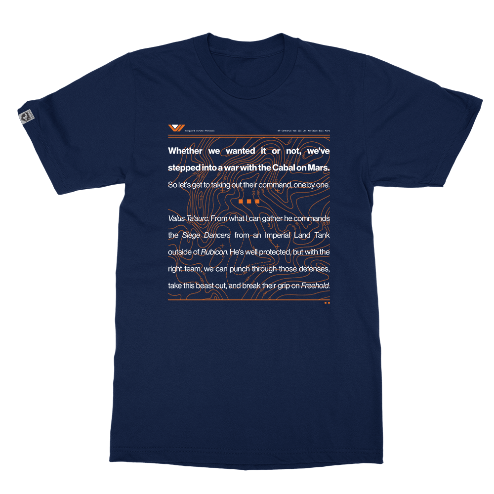 cabal on mars t shirt bungie store