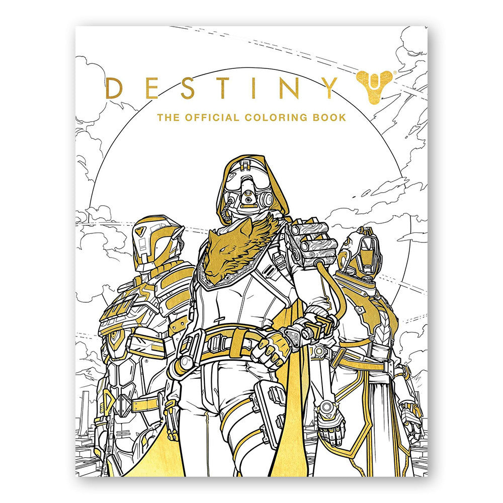 - Destiny: The Official Coloring Book – Bungie Store
