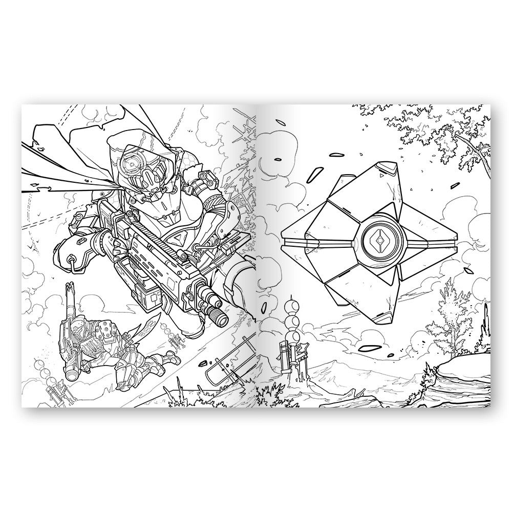 destiny the official coloring book u2013 bungie store