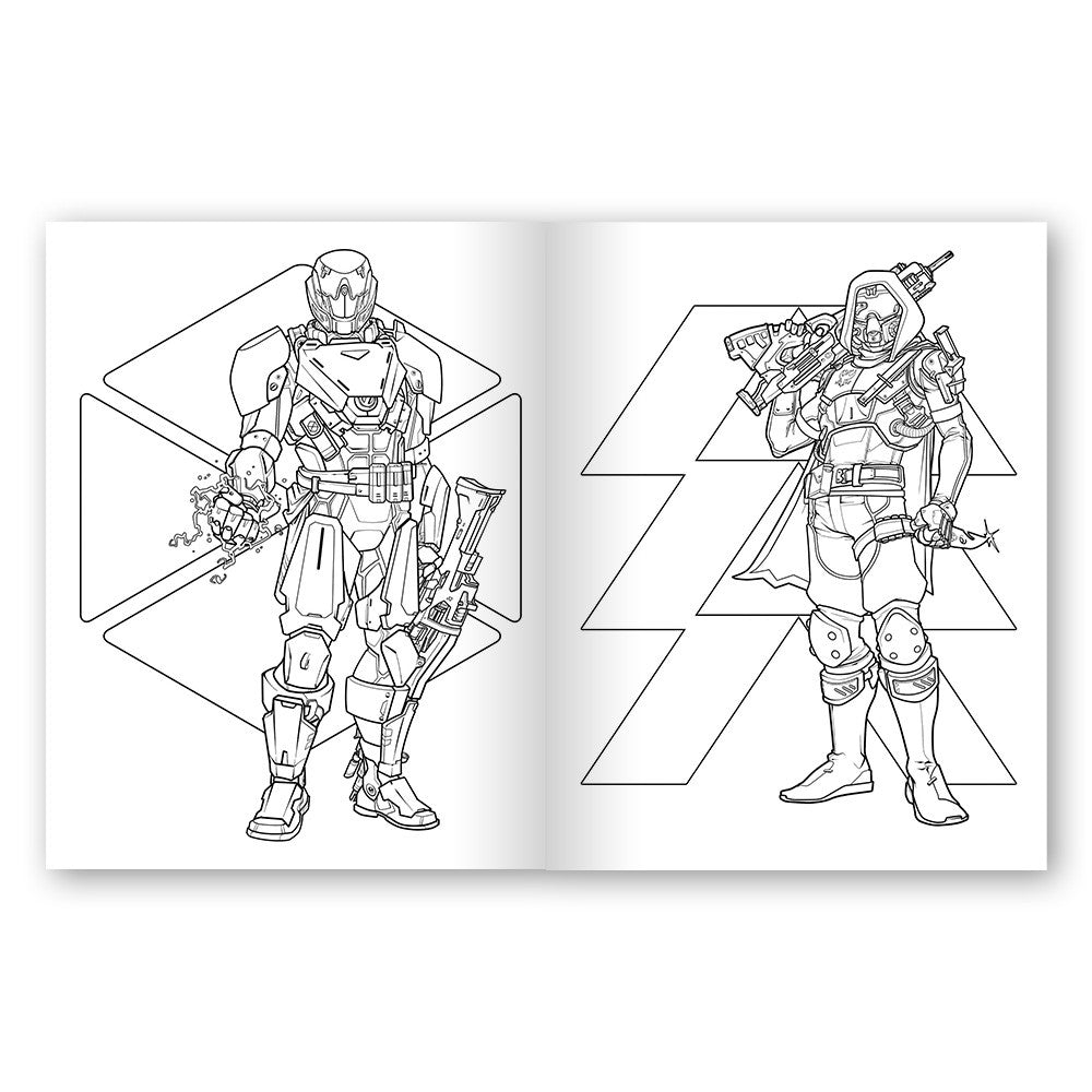 Destiny: The Official Coloring Book – Bungie Store
