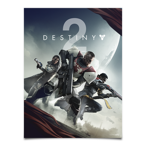 Destiny 2 Key Art Poster