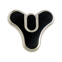Destiny 2 Tricorn Collectible Pin with Emblem