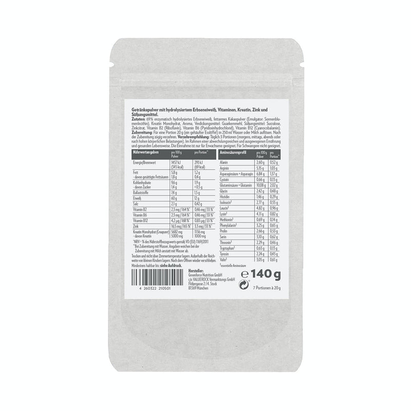 PROBIERPACK Regenerationspulver Cookie Dough 140 g