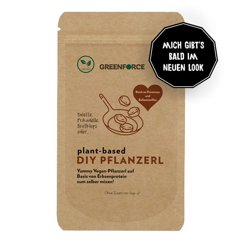 Plant-based DIY Pflanzerl