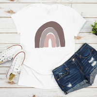 Rainbow Tshirt - lightweight cotton tee