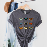 Butterfly Tee - Comfort Fit Short Sleeve Tshirt