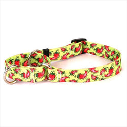 Yellow Dog Hot Peppers Collar