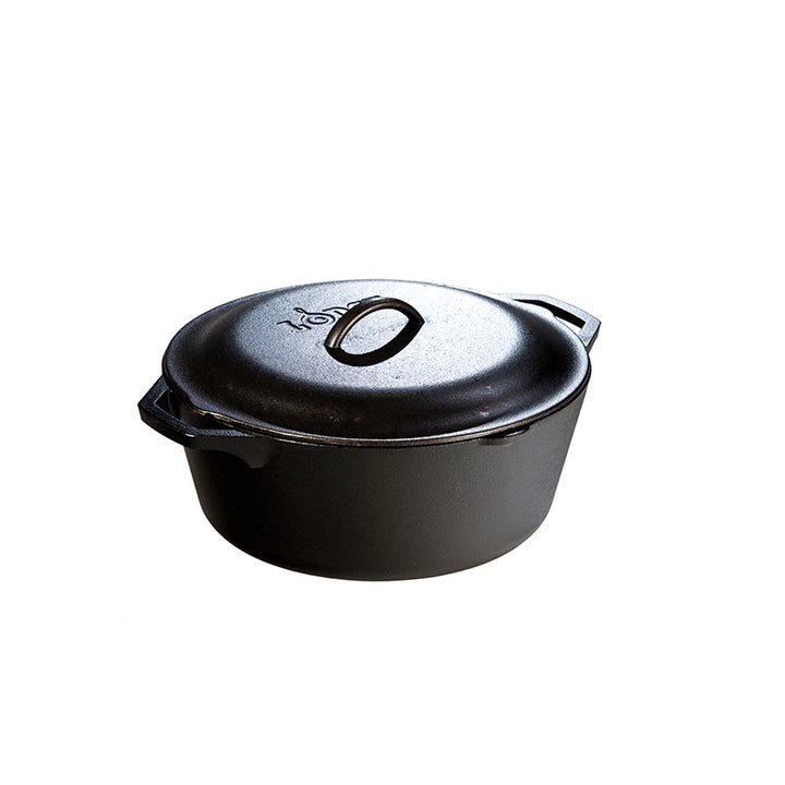 Lodge Cast Iron Lodge Logic 7-Quart Cast Iron Dutch Oven