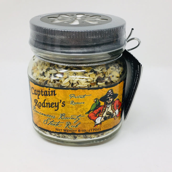 Captain Rodney's Boucaneer'S Bounty Steak Rub 6 Oz