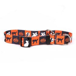 Yellow Dog Design Pumpkin Patch  Dog Collar