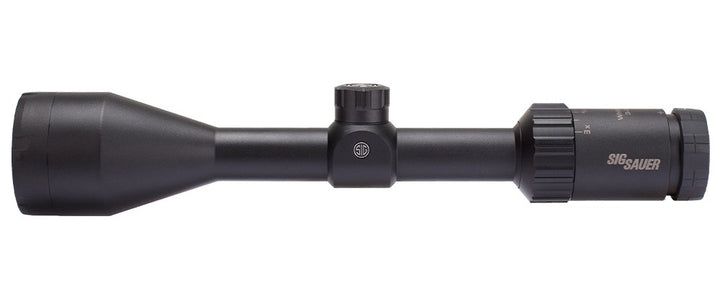 Sig Sauer Whiskey 3 Scope, 3-9x50mm, 1in, Sfp, Bdc-1 Quadplex Reticle, 0.25 Moa Adj, Black