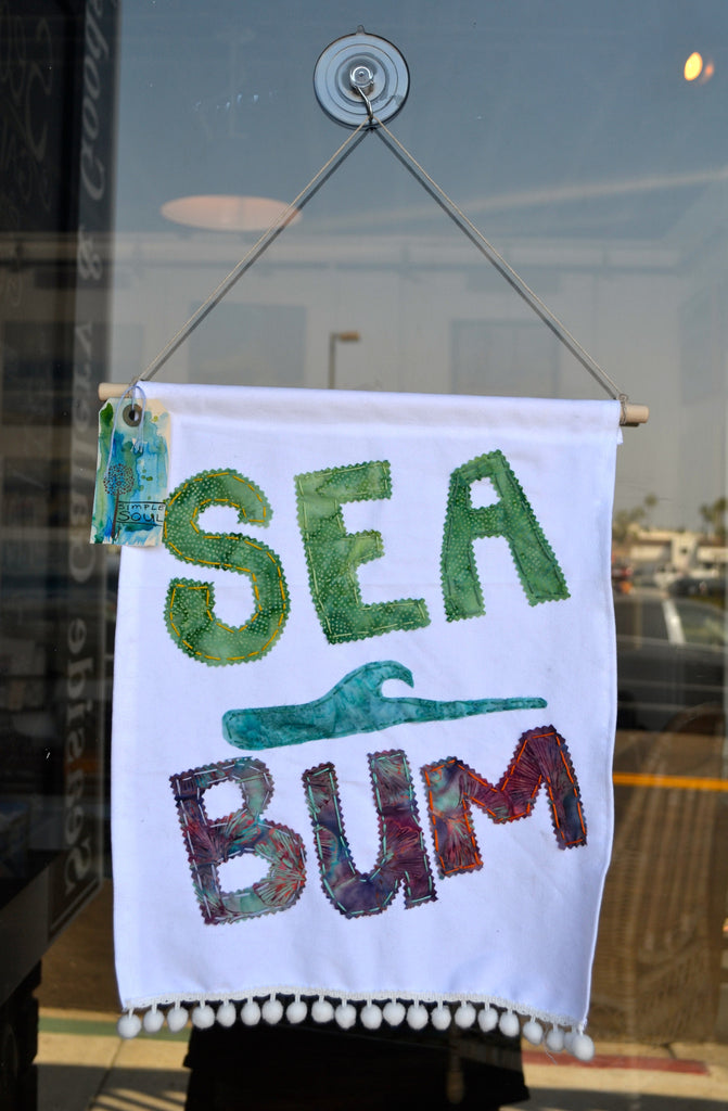 """Surf Bum"" Flag"