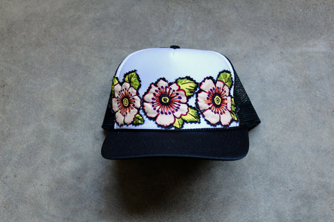 Flower Crown Cap