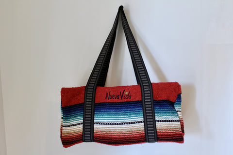Nueva Vida Weekend Bag (red)